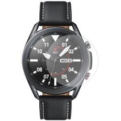 Samsung Galaxy Watch 3 45mm Härdat Glas Skärmskydd Transparent