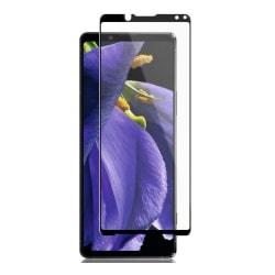 Sony Xperia 1 II Heltäckande 3D Härdat Glas Skärmskydd 0,2mm Transparent