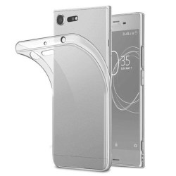 Sony Xperia XZ1 Transparent Mjuk TPU Skal Transparent