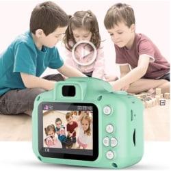 Digitalkamera för barn - Foto/Video Full HD med SD minneskort grön