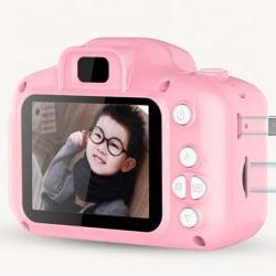 Digitalkamera för barn - Photo/Video - Full HD - TF kortplats rosa