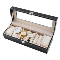 Klockor förvaring - Organizer box för klockor 6 klockor