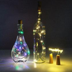 LED Ljusslinga för Flaskor Dekoration mm flerfärgad