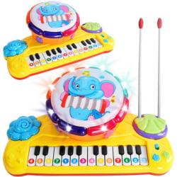 Pedagogiska piano med trumma till Barn