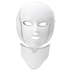 Professionell LED Fotonterapi Mask med Nacke / Photon Therapy