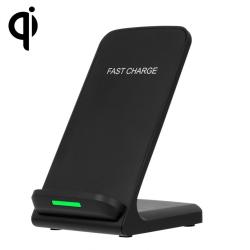 Qi Trådlös laddare-Mobilhållare - Snabbladdning svart