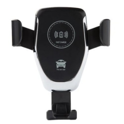 Universal Qi Trådlös laddare/mobilhållare för bilen