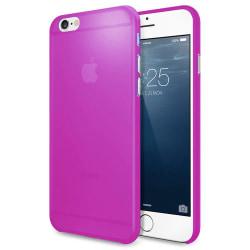 AirSkin ultratunt genomskinligt Lila frostat skal iPhone 6S 6 Lila