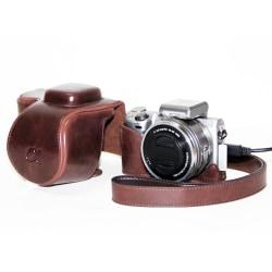 E-Mount Kamerafodral för Sony A5000  Brun
