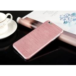Mobilskal borstad aluminium Iphone  plast Rosa Iphone 6