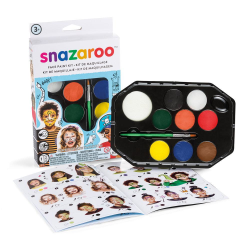 Ansiktsfärg Snazaroo Set Adventure, 8 färger/fp multifärg
