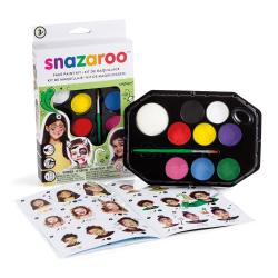 Ansiktsfärg Snazaroo Set Rainbow, 8 färger/fp multifärg