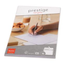 Elco Prestige Kuvert C5, 10 kuvert/fp Vit