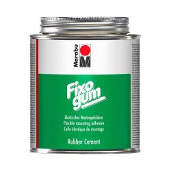 Gummiklister Marabu Fixogum, 500 gram, i plåtburk (syrafritt) Transparent