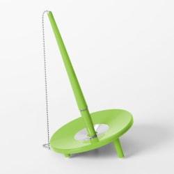 Kulspetspenna med ställ Ballograf Epoca Bank DeskSet Neongrön (m Grön
