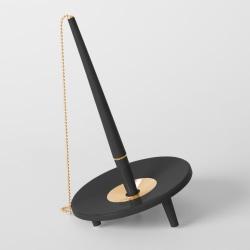 Kulspetspenna med ställ Ballograf Epoca Bank DeskSet Svart/Guld  multifärg