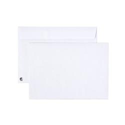 Kuvert C5 Vit 90g med Peal & Seal-täckremsa, 25 kuvert/fp Vit