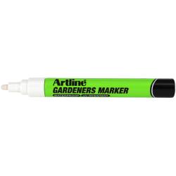 Märkpenna Artline EKPR-GDM WHITE Garden Marker 2,3mm Vit Vit