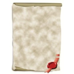 Motivpapper Sigel Document Scroll DP521 A4 185gram, 12 ark/fp multifärg