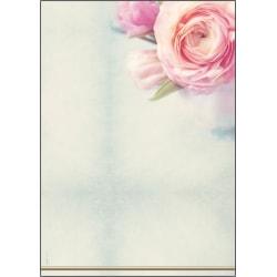 Motivpapper Sigel Rose Garden DP004 A4 90gram, 50 ark/fp multifärg