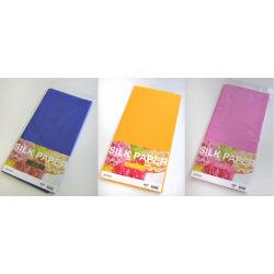 Silkespapper 50x70cm (Mörkblå-Gul-Rosa) 3 färger x 10 ark/fp multifärg