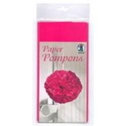 Silkespapper 50x70cm Rosa 10 ark/fp Rosa