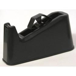 Tejphållare, för tejpstorlek: max 25mm x 66m rullar, 1,3kg, Svar Svart
