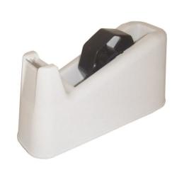 Tejphållare, för tejpstorlek: max 25mm x 66m rullar, 1,3kg, Vit Vit