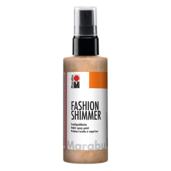 Textilsprayfärg Fashion Shimmer Spray 100ml Shimmer-Apricot Aprikos