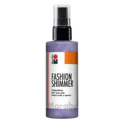 Textilsprayfärg Fashion Shimmer Spray 100ml Shimmer-Lilac Lila