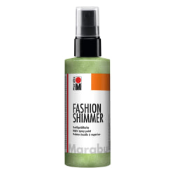 Textilsprayfärg Fashion Shimmer Spray 100ml Shimmer-Reseda Grön