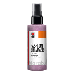 Textilsprayfärg Fashion Shimmer Spray 100ml Shimmer-Rose Pink Rosa