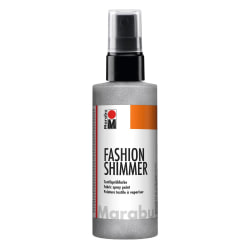 Textilsprayfärg Fashion Shimmer Spray 100ml Shimmer-Silver Silver