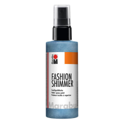 Textilsprayfärg Fashion Shimmer Spray 100ml Shimmer-Sky Blue Blå