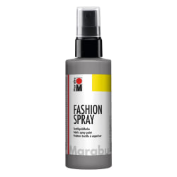 Textilfärg sprayflaska Marabu Fashion Spray 100ml Grey (078) grå