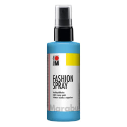 Textilfärg sprayflaska Marabu Fashion Spray 100ml Sky-Blue (141) Ljusblå