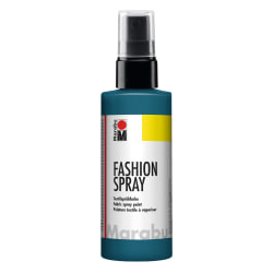 Textilfärg sprayflaska Marabu Fashion Spray 100ml Petrol (092) Mörkgrön