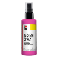 Textilfärg sprayflaska Marabu Fashion Spray 100m Rose Pink (033) Rosa