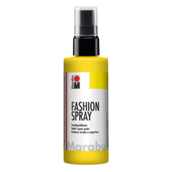 Textilfärg sprayflaska Marabu Fashion Spray 100ml SunshineYellow Solig gul