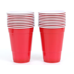 College Party Cups 20-pack (Öl Plastmugg)