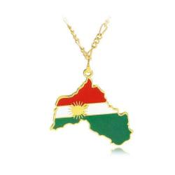 Halsband Guld Kurdistan