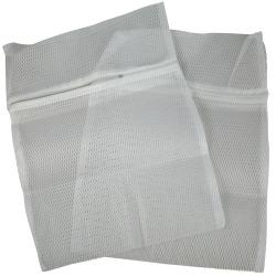 2st Tvättpåsar för underkläder 40x30cm Vit