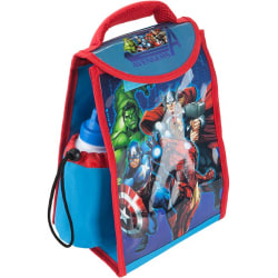 Avenger lunchväska med dricka flaska, Originalprodukt Svart