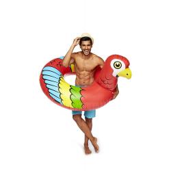 Bigmouth Badring Parrot - Jättestor - 120cm multifärg