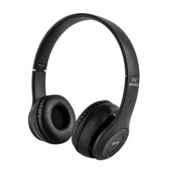 Bluetooth Stereo Hörlurar P47 med mikrofon Svart