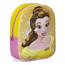 Disney Princess 3D Ryggsäck - 33cm - Originalprodukt multifärg one size