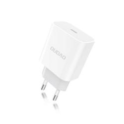 Dudao 18w PD Snabbladdare för iPhone 12 med USB-C White