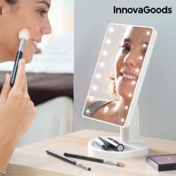 InnovaGoods LED spegel Vit