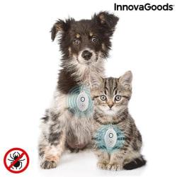 InnovaGoods giftfritt fästingskydd för djur Vit
