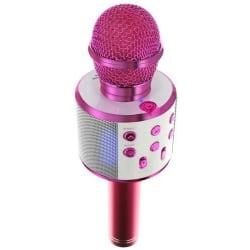 Karaoke mikrofon med högtalare Rosa